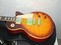 Groothandel guitars nieuwste aged custom shop gitaar met case gratis verzending