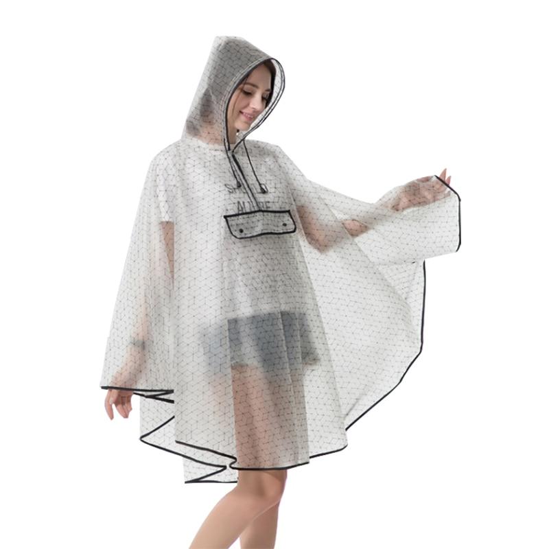 2019 nueva moda calidad impermeable reutilizable plástico EVA mujeres lluvia capa hombres poncho con capucha para senderismo montar Bebebek Midimod verano conejo para niña bebé Micro chubasquero