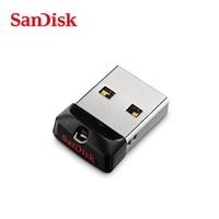 100% Original SanDisk USB 2.0 SDCZ33 Mini Pen Drives 64GB 32GB 16GB 8GB USB Flash Drive Stick U Disk USB Key PENDrive for PC