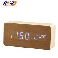 진선님 LED 알람 시계 시간/날짜/온도 디지털