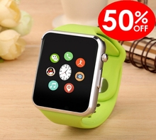Smart Uhr Smartwatch mit IPS touchscreen 240*240 pixel für apple iPhone IOS Android Smartphone PK GT08 DZ09 Aa