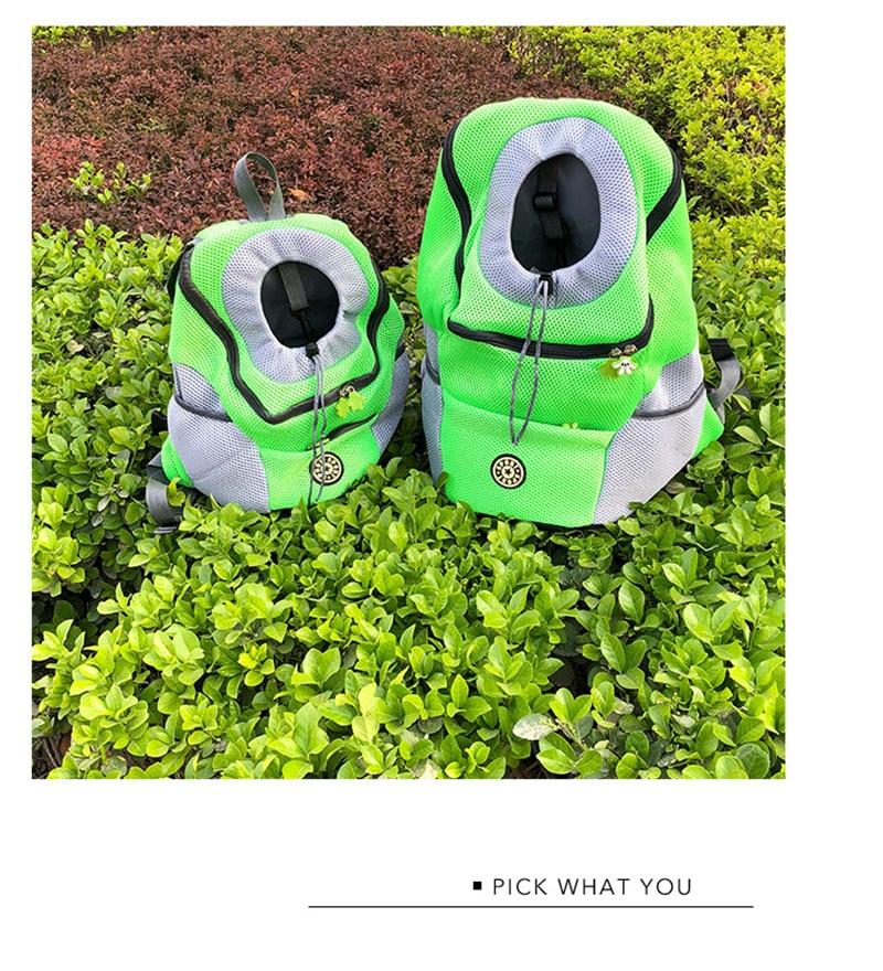 Portable Travel Dog Backpack Carrier 18