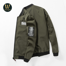 New Spring jacket coat men brand clothing fashion male bomber jacket top quality outwear black army green
