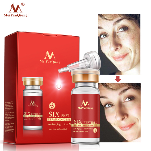 Argireline Six Peptides Repair Concentrate Rejuvenation Emulsion Anti Wrinkle Serum For Face Skin Care Products Anti-aging Acid 2