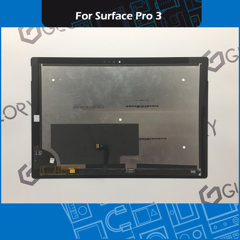 Full New LCD Assembly For Microsoft Surface Pro 3 (1631) TOM12H20 V1.1 LTL120QL01 003 Display Touch Screen Digitizer Panel GlassFull New LCD Assembly For Microsoft Surface Pro 3 (1631) TOM12H20 V1.1 LTL120QL01 003 Display Touch Screen Digitizer Panel Glass