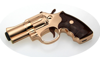 New Revolver USB Rechargeable Flameless Electric Arc Windproof Cigar Cigarette Lighter