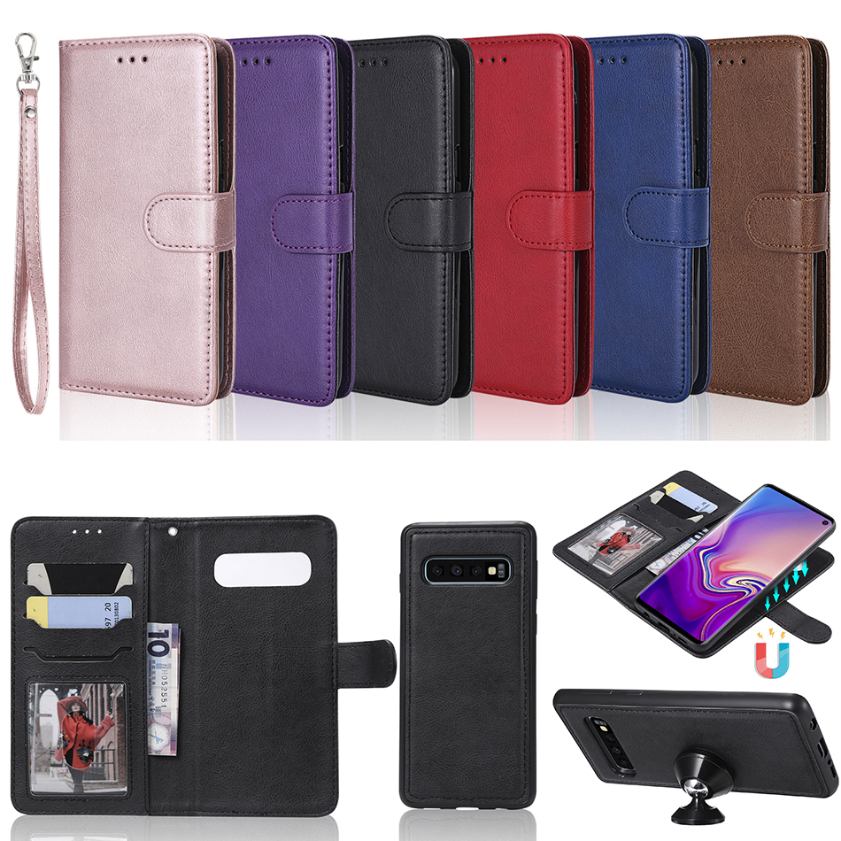 Detachable 2in1 Leather Wallet Case For Samsung Galaxy S3 Neo S4 S5 S6 S7 Edge S8 S9 Plus S10 Lite A6 A7 A8 A9 2018 Cover A128Detachable 2in1 Leather Wallet Case For Samsung Galaxy S3 Neo S4 S5 S6 S7 Edge S8 S9 Plus S10 Lite A6 A7 A8 A9 2018 Cover A128