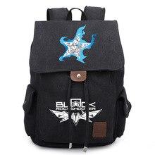 f5ce1e555da6b Anime Black Rock Shooter Sırt Çantası Okul Çantaları Unisex Tuval Omuz  Dizüstü Seyahat Çantaları Sırt Çantası