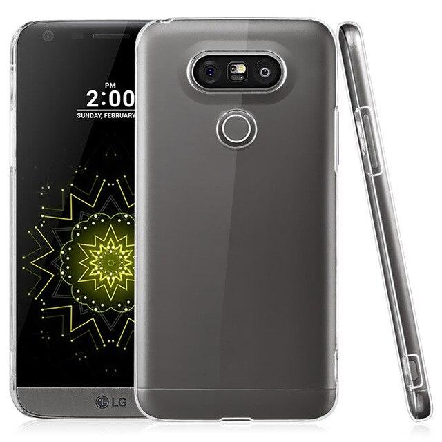 super popular 9d705 44935 US $1.64 8% OFF|Ultra Thin Transparent Dirt Resistant Plastic Clear Hard  Back Cover Case for LG G5 H850 VS987 H820 / G5 SE H840 H845 G5 Lite-in  Fitted ...
