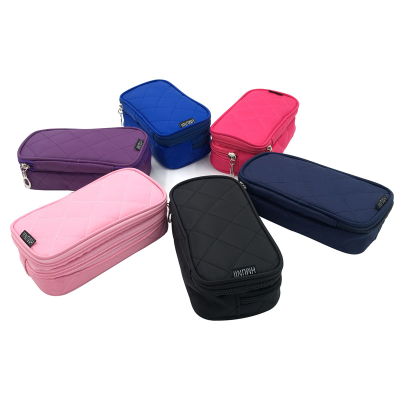 2017 Fashion Lady Cosmetic Bag Travel Storage Brush Cosmetic Bag Cute Handy Petite Cosmetologist
