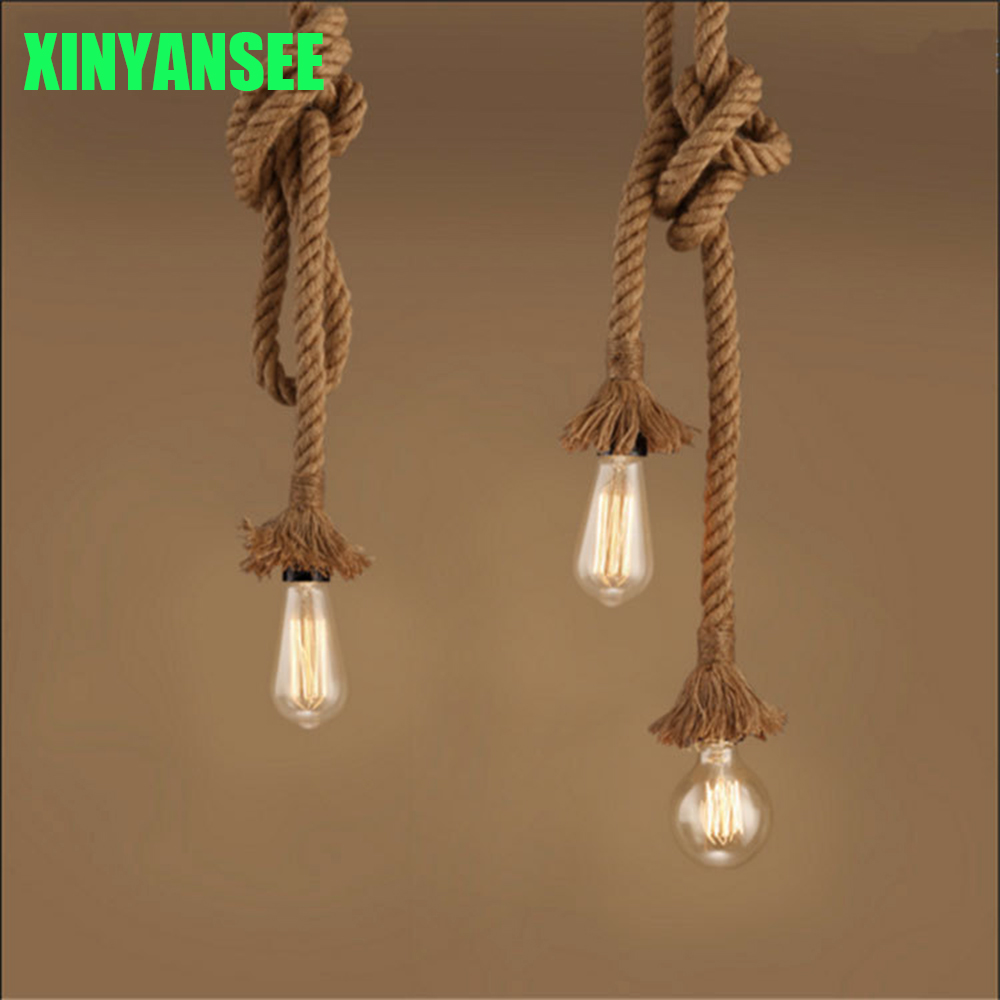 pendant lighting with rope # 51