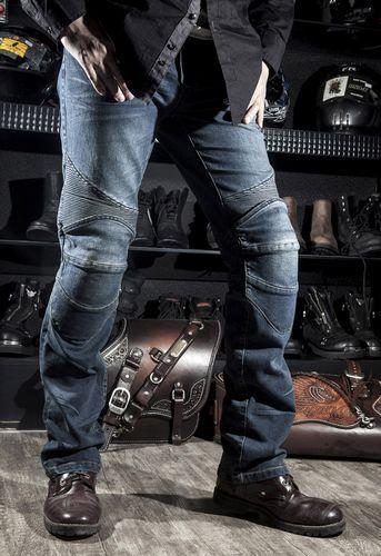 Komine Motorcycle Jeans Drop Resistance Slim Denim