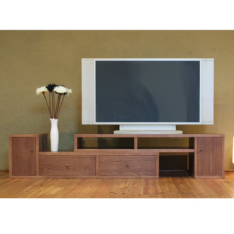 Living Room Cabinet Design In India: Whole Solid Wood Living Room Tv Cabinet Fashion Wood Brief