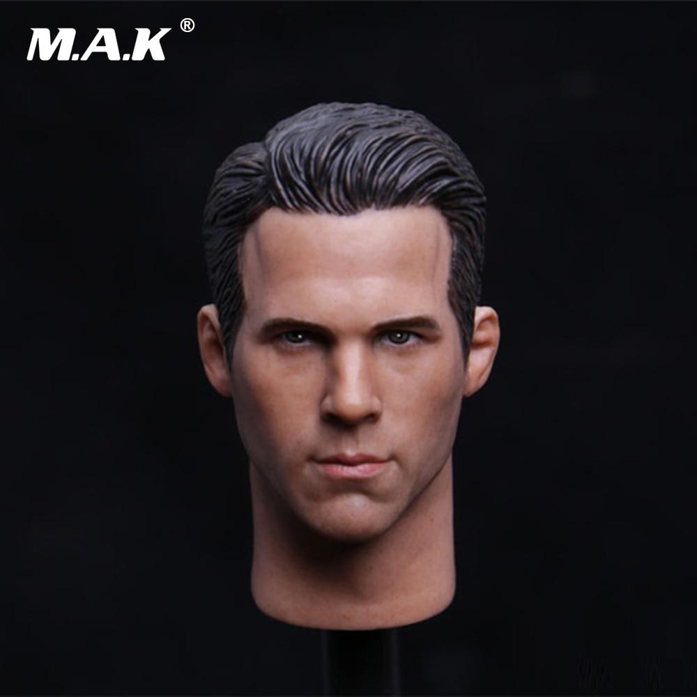 ryan reynolds scales - 1/6 Scale Ryan Reynolds Deadpool Head Sculpt For 12 inches Body Figures
