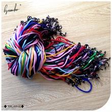 Lymouko 100 шт./лот, разноцветные нейлоновые очки, держатель шнура, солнцезащитные очки для спортивных очков, ремешок на шею