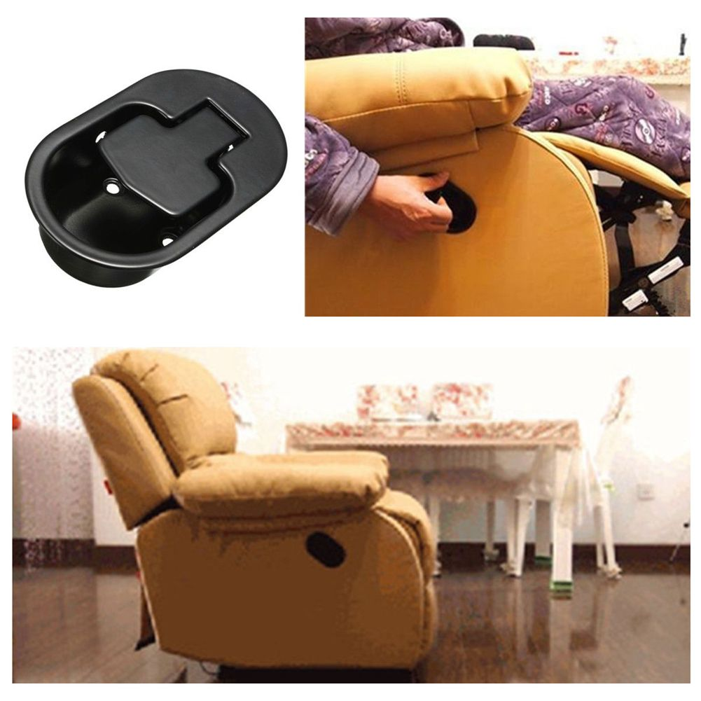 2X Durable Recliner Chair Sofa Couch Release Lever Replacement Metal Handle