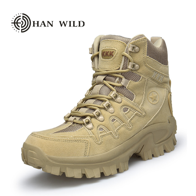 Men Winter Fashion Martin Snow Boots Desert Tactical Military Boots Hiking Leather Combat Shoes combat boots desert tan lug sole military boots page 4
