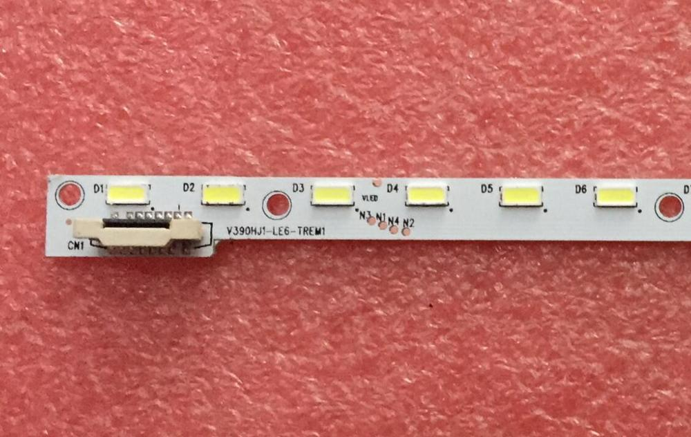 New 5 PCS lot 48LED 490mm LED backlight strip for 39inch V390HJ1 LE6 TREM1 V390HJ1 LE6