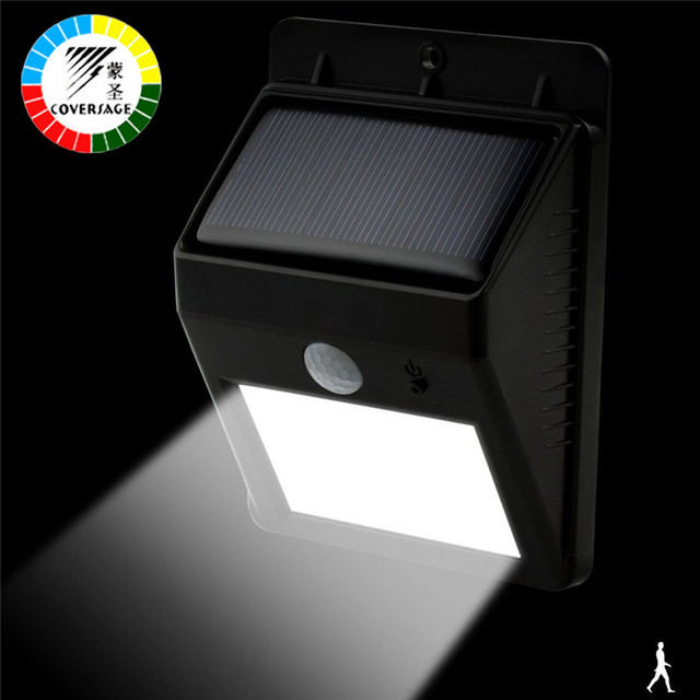 Coversage 6 led solar outdoor iluminacion luz auto motion light coversage 6 led solar outdoor iluminacion luz auto motion light sensor waterproof led energy wall lights aloadofball Images