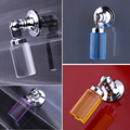 1pcs K9 Clear Pillar shape Crystal Pendant Handle For Door Drawer Cabinet Wardrobe TV Pull Handle Knobs LA5003
