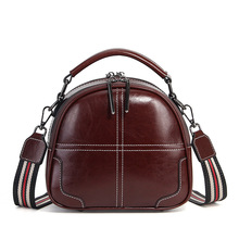 Women Crossbody Bags Cow Leather Shoulder Bag for Woman Handbags Vintage Fashion Purse Lady Totes Bag Women's Day Gift 2018 new arrival fashion leather woman handbags shoulder bags top handle bags totes vintage bag for women m2150