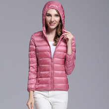 2017 Winter Women's Down Coats Warm and Warm Ladies Jackets & Coat Slim Warm and Comfortable High Quality Multi-color Selection
