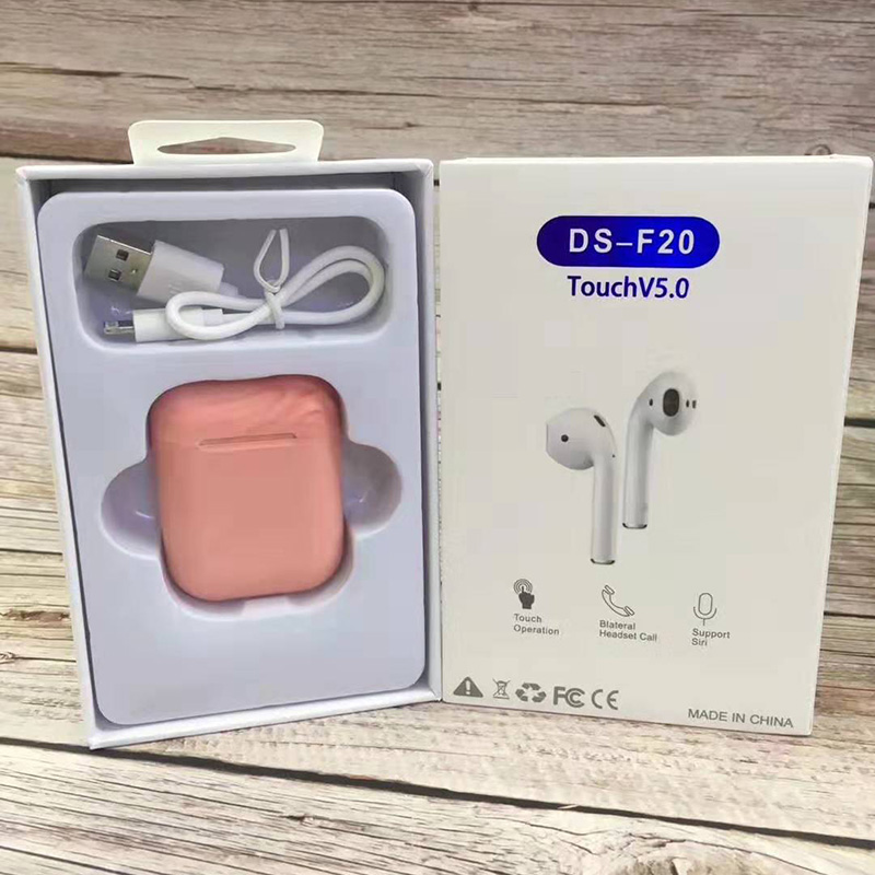 TWS F20 Touch Wireless Bluetooth Earphone For iPhone And Android 2