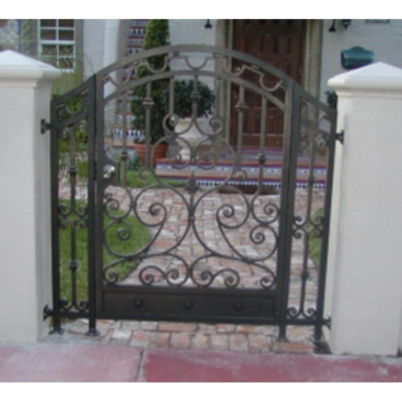 Iron Fences And Gates Metal Gates And Railings Custom Metal Gates