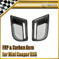 Car-styling For BMW Mini Cooper 11y~ R56 Duell AG Carbon Fiber Fog Light Cover