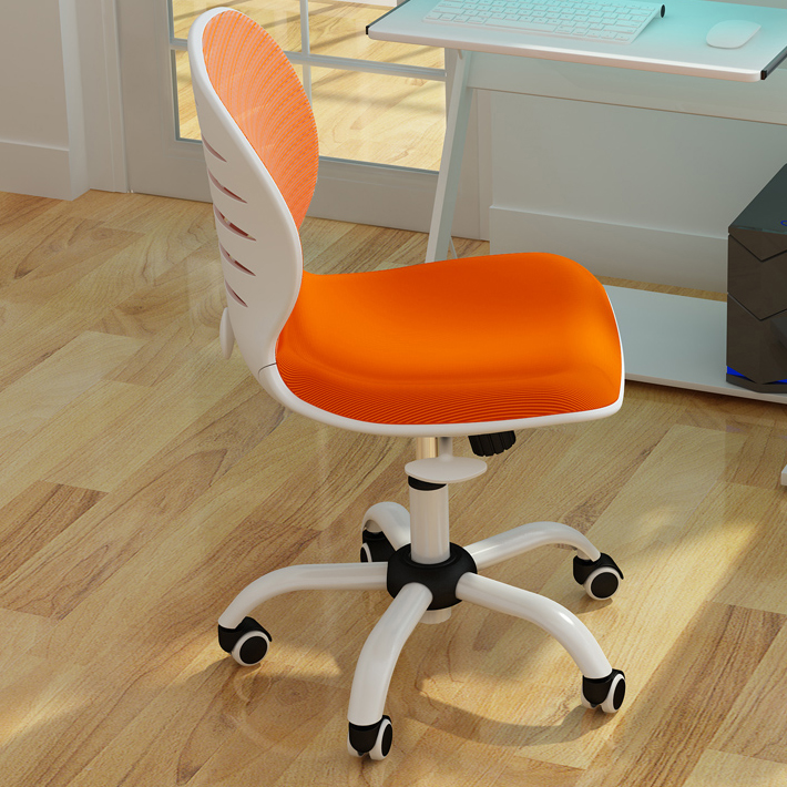 Hot computer chair home office chair armrest small lifting chair mesh staff chair computer chair home office chair mobile no handrail small lift swivel chair mesh staff chair
