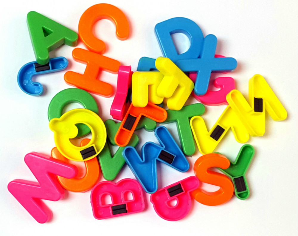 26 pc az magnetic letters full alphabet a z preschool educational fridge magnets 125 baby kid birthday party favors toys gift
