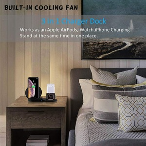 Image 5 - Беспроводное зарядное устройство, для iPhone 11/X/XS, AirPods Apple Watch 5/4/3/2
