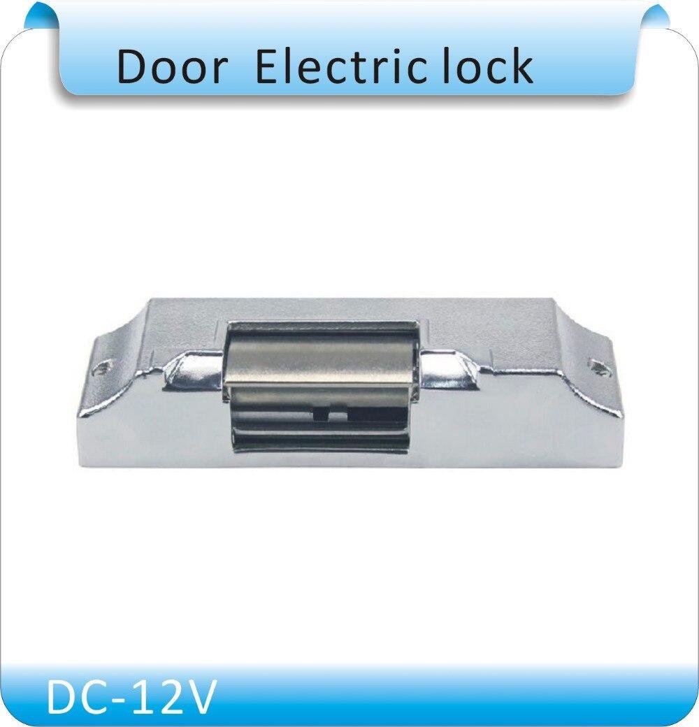 Kob Wooden door dedicated  lock tongue swan electrolock mouth no /nc cathode lock access control electrolock DC-12V