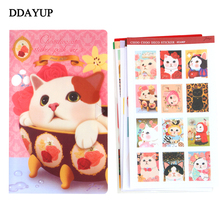 Cartoon Cute Animal Cat Diary Stickers post it Laptop Luggage Notebook Kids Toy Stickers