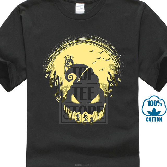 4deab69bf54 Nightmare Before Christmas Jack Skellington Boogie Man T Shirt S 6Xl Tall  Sizes