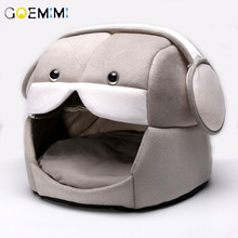 Winter Warm Cat Cave House Pet Bed Dog Lovely Soft Suitable Sleeping Nest Kennel 2019