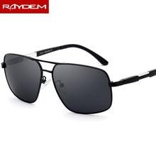 8332ee5291 Raydem 2018 nuevo polarizado gafas de sol de conducir los hombres piloto de  aviación estilo de