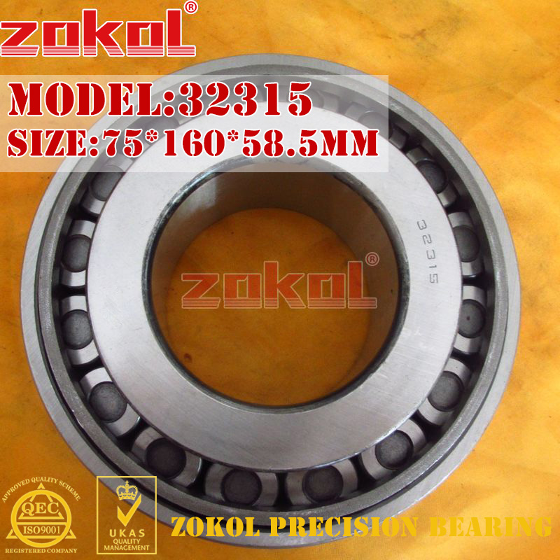 ZOKOL bearing 32315 7615E Tapered Roller Bearing 75*160*58.5mm юбка love republic цвет мятный 8151164202 19 размер 42