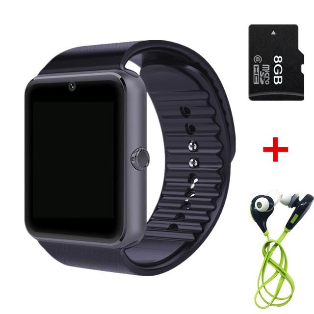 Продажи! Smart Watch GT08 Clock Sync Notifier С Sim-карты Bluetooth Для apple huawei Android Smartwatch Телефон носимых устройств