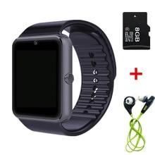 Bluetooth Smart часы GT08 Android Телефонный звонок Relogio 2 г/м² sim-карта TF Камера SmartWatch для iphone Samsung Huawei pk DZ09 Q18