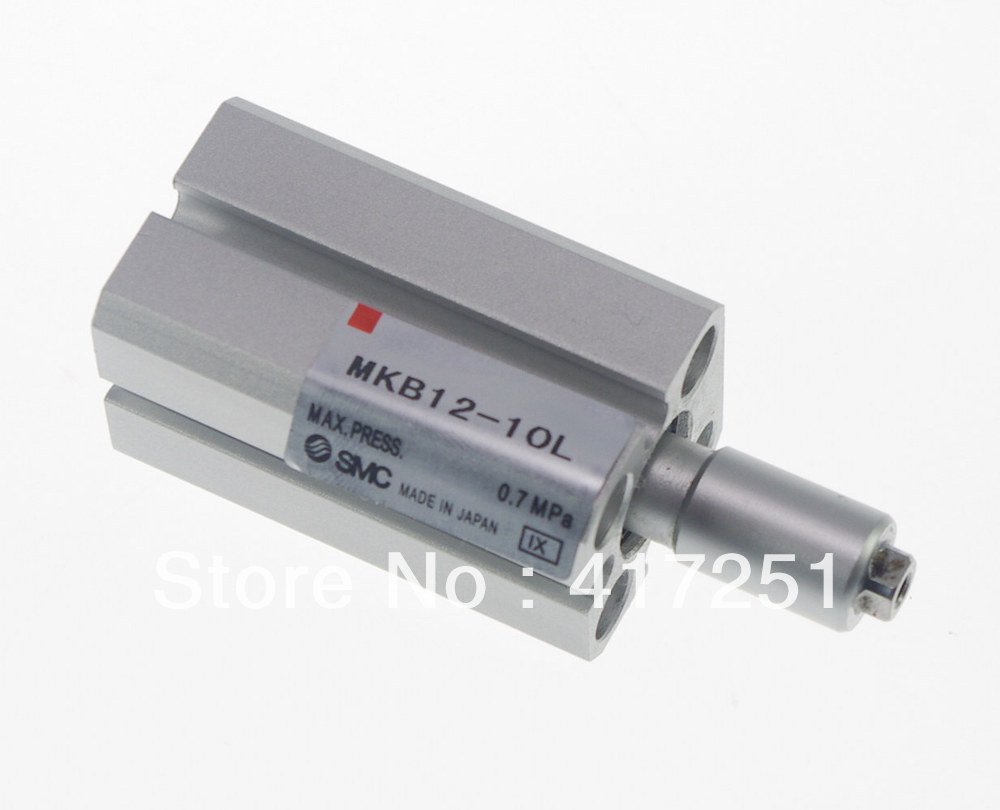 SMC MKB12-10L Rotary Clamp Cylinder Rotary Direction Counterclockwise mkb12 10rn smc type rotary clamp air pneumatic cylinder mkb mk series mkb12 10rn