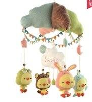 Handmade presepe campana pacchetto materiale FAI DA TE pollo neonato forniture prenatali giocattoli di stoffa
