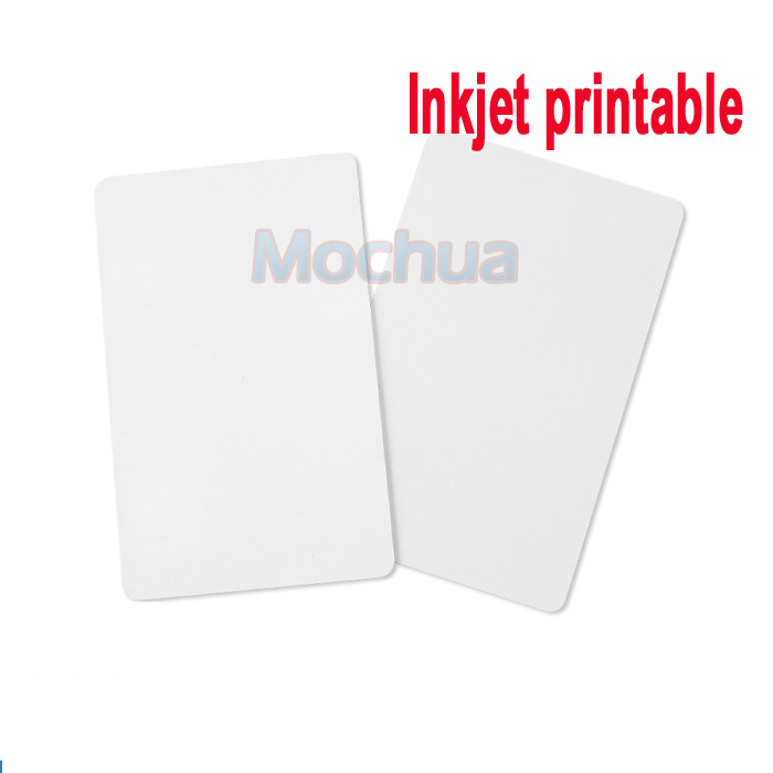 Printable Blank Inkjet PVC Cards 13.56MHZ NTAG215 Card Inkjet Blank PVC Card For Canon Epson Printer