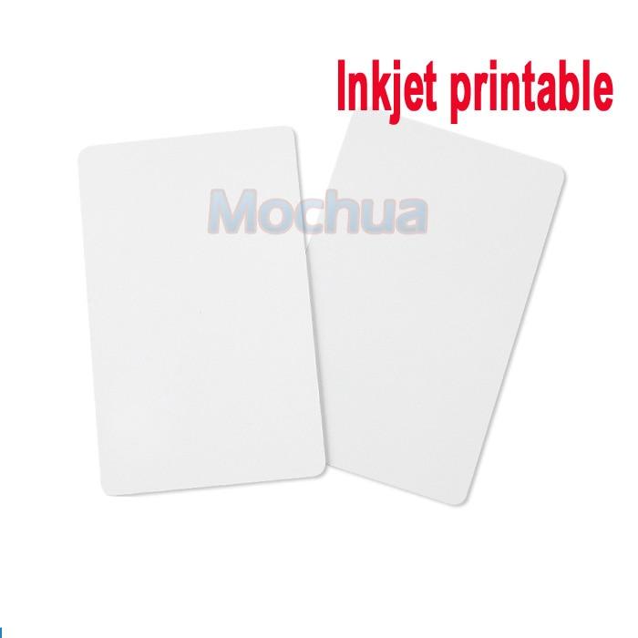 Printable Blank Inkjet PVC Cards 13.56MHZ NTAG215 Card Inkjet Blank PVC Card For Canon Epson Printer