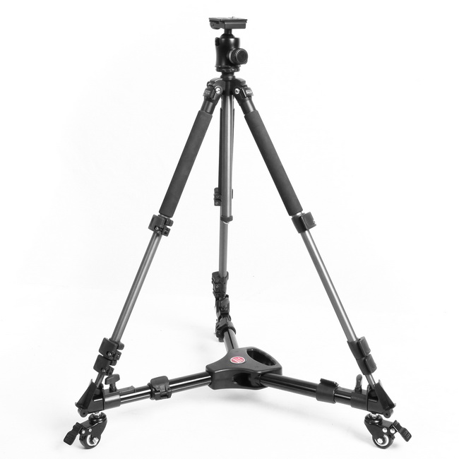Meking Professional Tripod Dolly Wheels For Studio Photo Video Lighting Lockable For Canon Nikon Sony DSLR Camera Photo Studio image