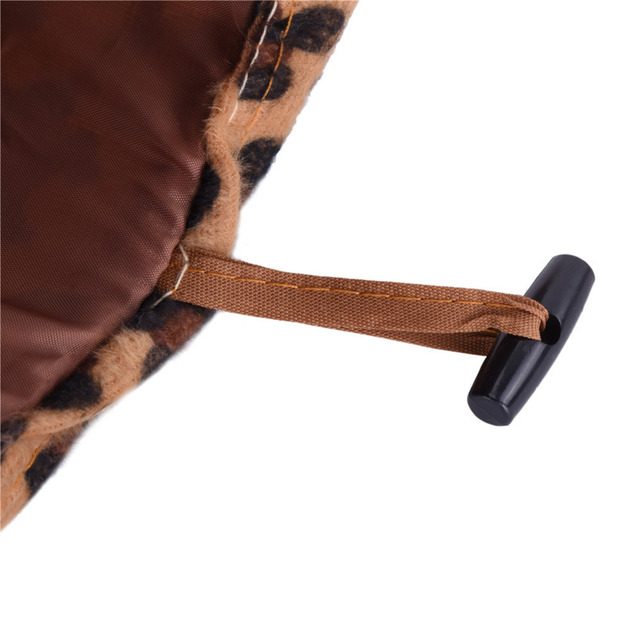 Pet Cat Toys Cat Tunnel Leopard Plush Cat Funny Ball Cat Fun 2 Holes Long Tunnel Kitten Toys Pet Playing Living House