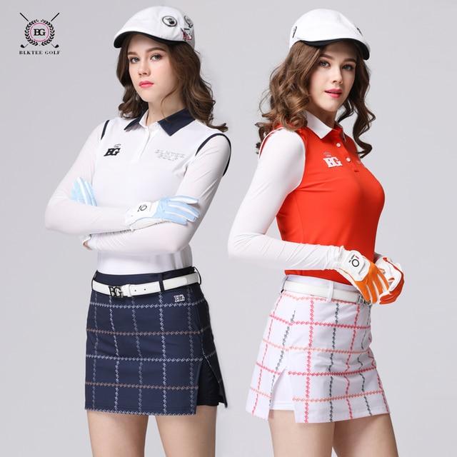 915523ffe4 New design women golf skirts sports clothes ladies short skirt golf women's  culottes girls elastic plaid