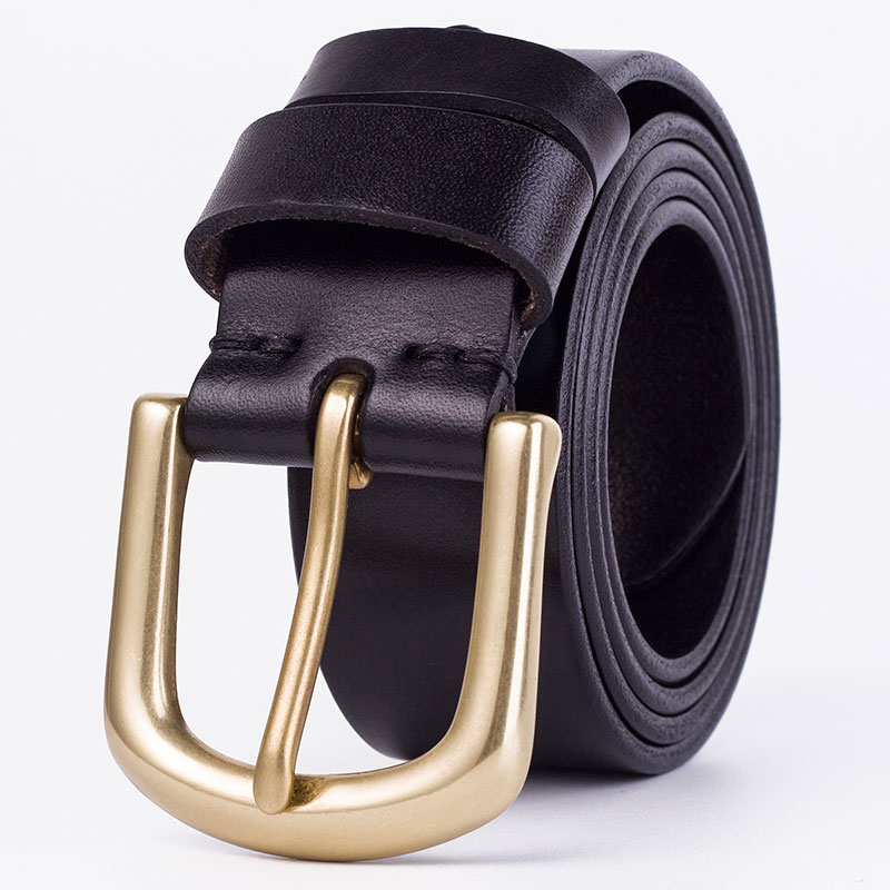 Badinka Men's Belt Leather Belt Men Male Genuine Leather Strap Luxury Pin Buckle Casual Men's Belt Cummerbunds Ceinture Homme