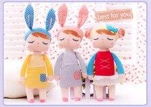 Милые Мягкие плюшевые Brinquedos Детские Игрушки для Девочек День Рождения Рождественский Подарок Bonecas 13 Дюймов Ангела Кролик Девушка Metoo Кукла