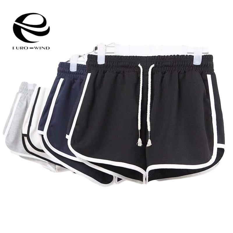 2019 Plus Size Fitness Black Shorts Women Summer Shorts Beach Mini Short Women Hot Pants Sexy Short Pants Women Female Harajuku